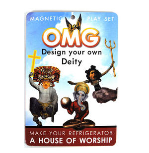 Omg Design Your Own Deity - Magnetic God Play Set Thumbnail 4