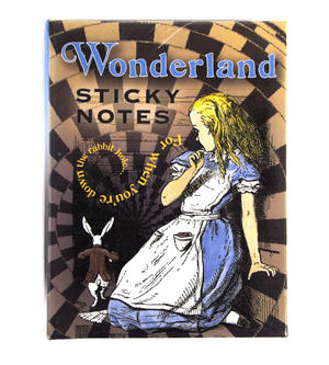 Alice In Wonderland Sticky Notes Thumbnail 2