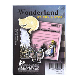 Alice In Wonderland Sticky Notes Thumbnail 3