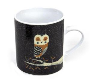 Owl - Dusk Wildlife Magpie Mug Thumbnail 1