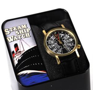 Steamship Watch - Retro Engine Room Telegraph Wristwatch Thumbnail 3