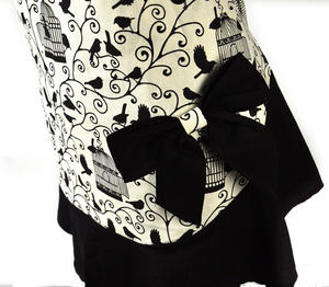 Birdcage Bow Little Black Apron Thumbnail 4