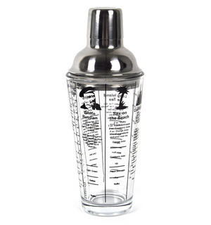Mixmaster Recipe Cocktail Shaker 14Oz Thumbnail 5