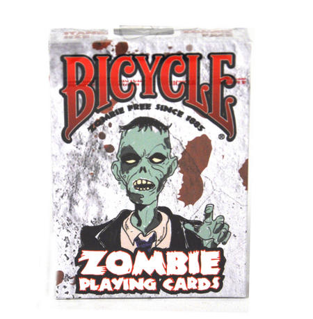 Zombie Playing Cards With 52 Zombie Survival Tips.