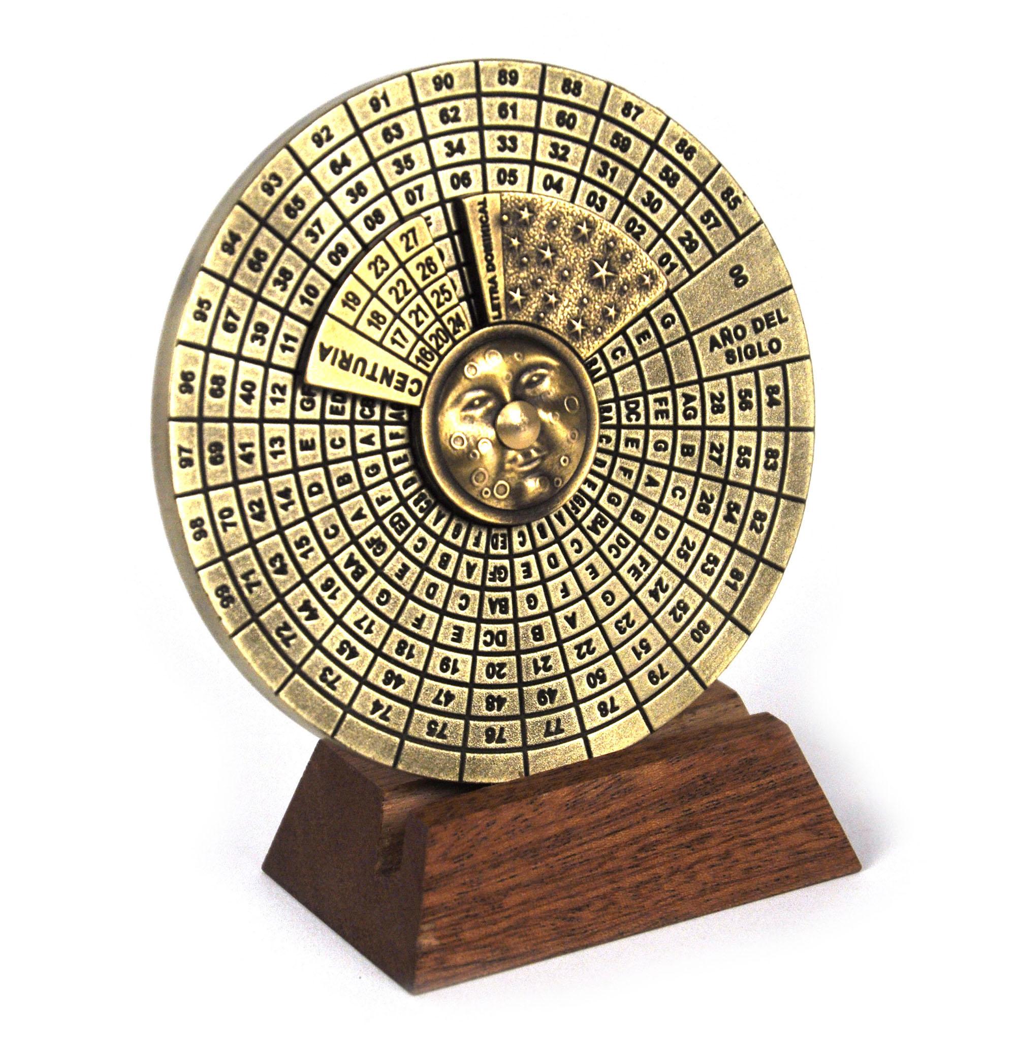 Perpetual Calendar Hemispherium Replica Antique