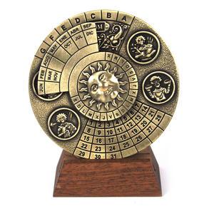 Perpetual Calendar - Hemispherium Antique Scientific Instument Thumbnail 1