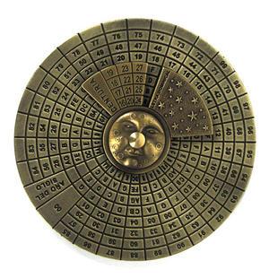 Perpetual Calendar - Hemispherium Antique Scientific Instument Thumbnail 5