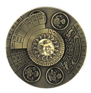 Perpetual Calendar - Hemispherium Antique Scientific Instument Thumbnail 6