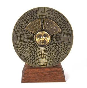 Perpetual Calendar - Hemispherium Antique Scientific Instument Thumbnail 7