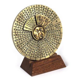 Perpetual Calendar - Hemispherium Antique Scientific Instument Thumbnail 8