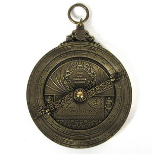 Astrolabe - Hemispherium Antique Scientific Instument Thumbnail 4