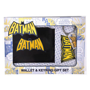 Batman Wallet And Keychain Set Thumbnail 1