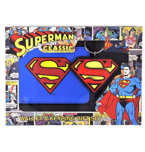 Superman Wallet & Keychain Set Thumbnail 1