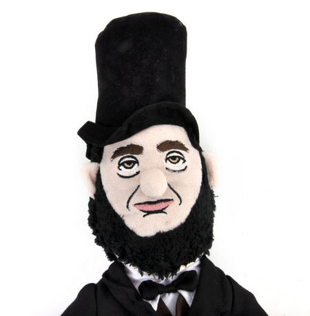 Abraham Lincoln Soft Toy - Little Thinkers Doll