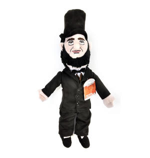 Abraham Lincoln Soft Toy - Little Thinkers Doll Thumbnail 3