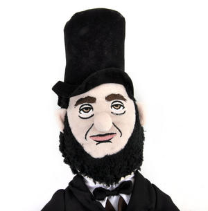 Abraham Lincoln Soft Toy - Little Thinkers Doll Thumbnail 1