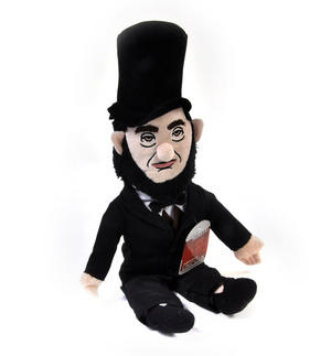Abraham Lincoln Soft Toy - Little Thinkers Doll Thumbnail 4