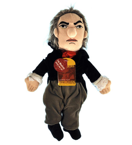 Beethoven Soft Toy - Little Thinkers Doll - Plays Music