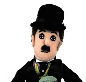 Charlie Chaplin Soft Toy - Little Thinkers Doll Thumbnail 1