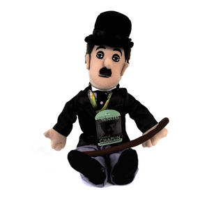 Charlie Chaplin Soft Toy - Little Thinkers Doll Thumbnail 2