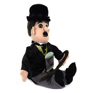 Charlie Chaplin Soft Toy - Little Thinkers Doll Thumbnail 3