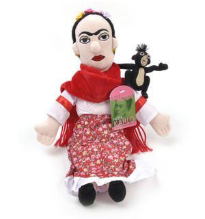 Frida Kahlo Soft Toy - Little Thinkers Doll Thumbnail 3