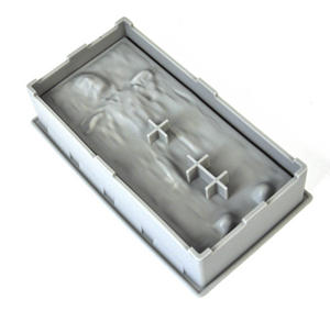 Star Wars Han Solo In Carbonite Ice Tray Thumbnail 2