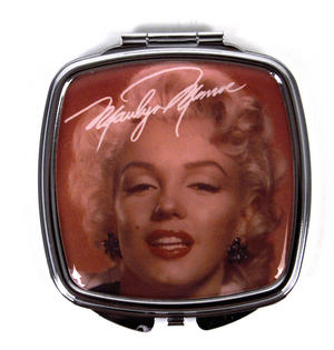 Marilyn Monroe 'Red Marilyn' Compact Mirror Thumbnail 1