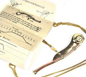 Bosun's Call Whistle - Nelson's Navy Souvenir