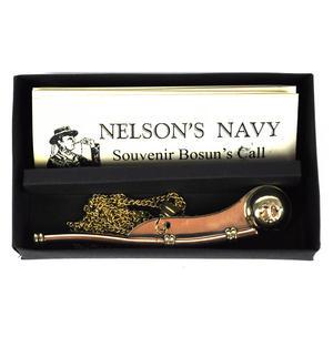 Bosun's Call Whistle - Nelson's Navy Souvenir Thumbnail 3