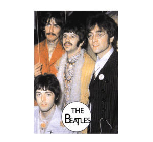 The Beatles Fridge Magnet Thumbnail 1