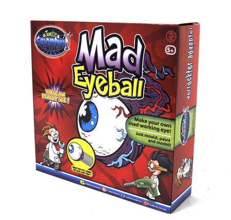 Mad Eyeball Set - Construct A Working Eyeball!