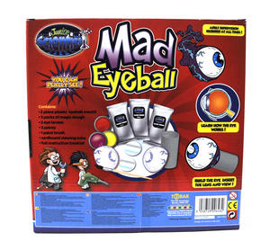 Mad Eyeball Set - Construct A Working Eyeball! Thumbnail 3