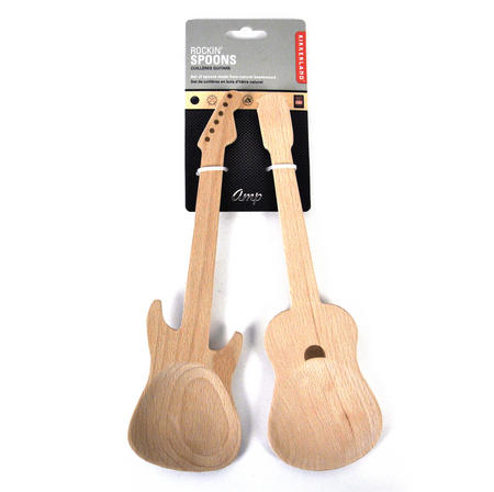Rockin Spoons - Wooden Spoon Guitars