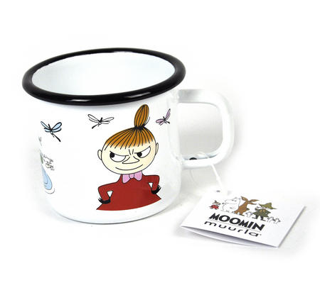 Little My - 37 cl Moomin Muurla Enamel Mug