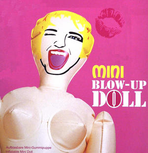 Mini Blow Up Girl - Random Designs Thumbnail 2