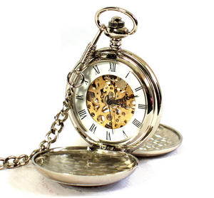 Gold Welsh Dragon Pocket Watch Thumbnail 4