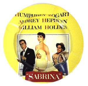 Audrey Hepburn 'sabrina' Ashtray Thumbnail 1