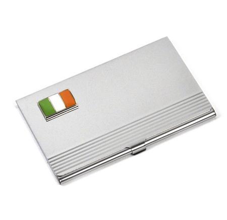 Ireland Business Card Case - Irish Tri Colour