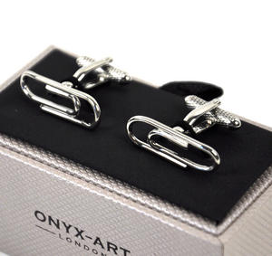 Cufflinks - Paperclips Thumbnail 2