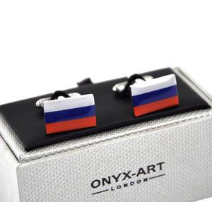 Cufflinks - Russian Federation - Russian Trikolor Flag Thumbnail 1