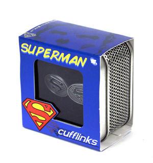 Cufflinks - Superman - Raised Enamel Thumbnail 3