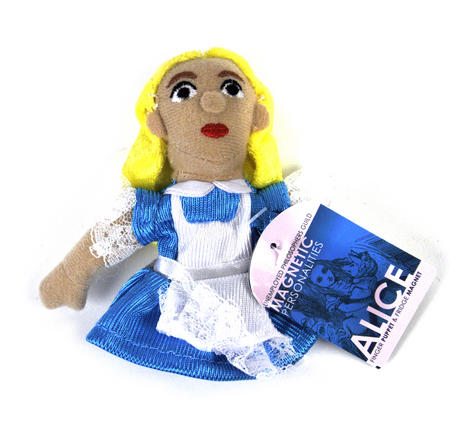 Alice In Wonderland Finger Puppet & Fridge Magnet