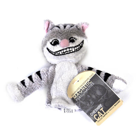 Cheshire Cat Finger Puppet & Fridge Magnet