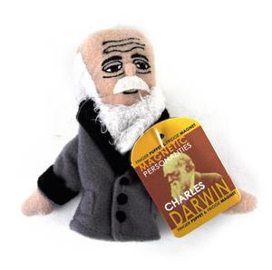 Charles Darwin Finger Puppet & Fridge Magnet Thumbnail 1