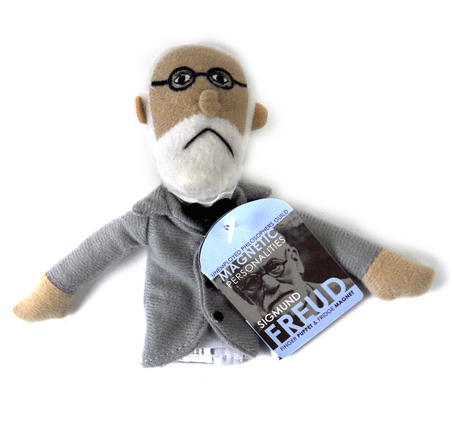 Sigmund Freud  Finger Puppet & Fridge Magnet