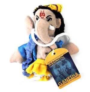 Ganesha Finger Puppet & Fridge Magnet Thumbnail 1