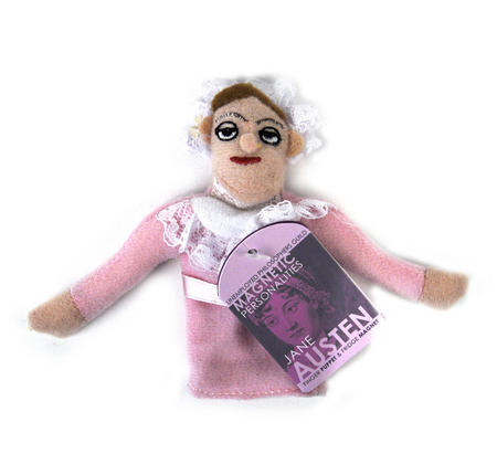Jane Austen Finger Puppet & Fridge Magnet