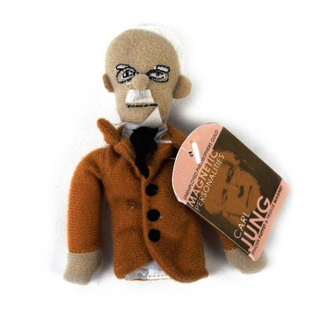 Carl Jung Finger Puppet & Fridge Magnet