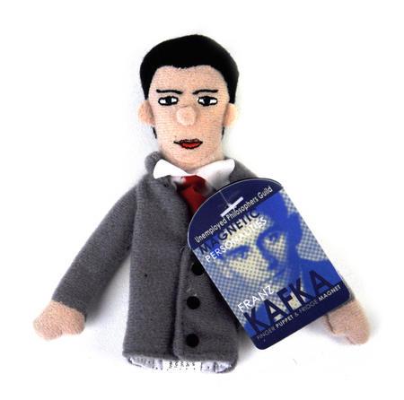 Franz Kafka Finger Puppet & Fridge Magnet